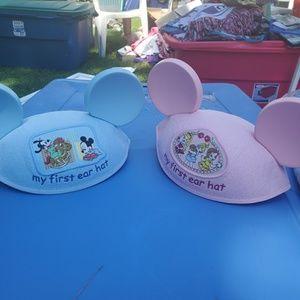 New Baby Disney Mickey Mouse & Princess Ears